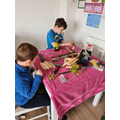 Busy boat building!