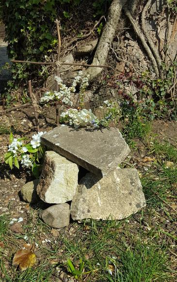Ben's Easter Garden