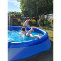 Diving practice!