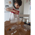 Scientist at work - Skeleton hands and much more!