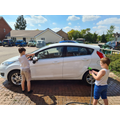 Life skills- Cleaning the car