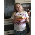 Home Economics Lesson - Baking fresh bread at home