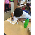 Writing potions