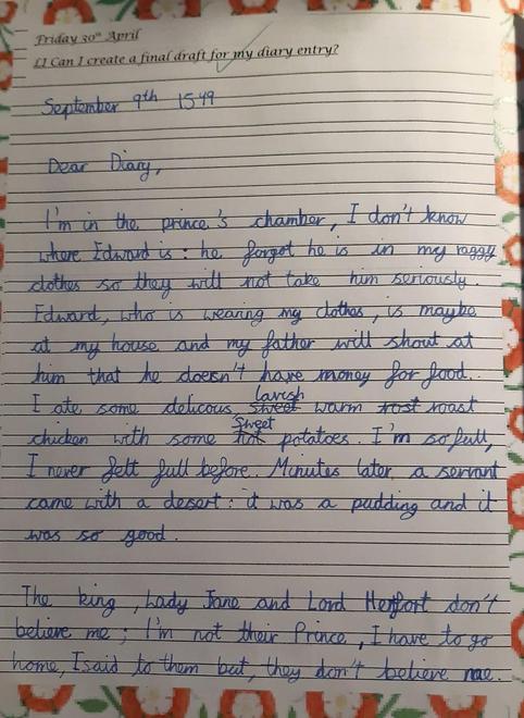Tom's Diary - p1