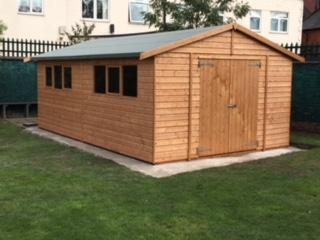 New Forest School Classroom and Fire Pit