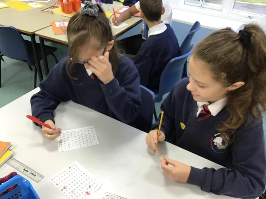 Partner A selected a number.