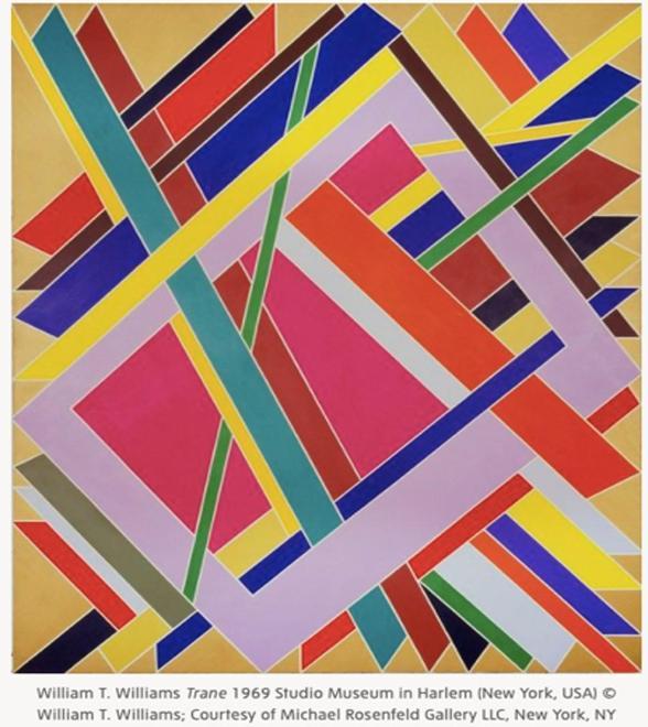 William T. Williams' original piece