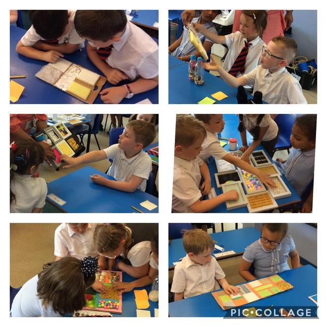 investigating sensory boards