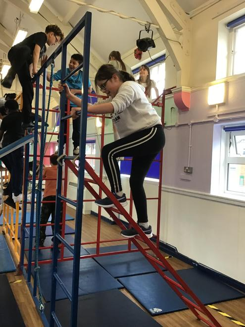 Year 6 experienced a day at the Circus