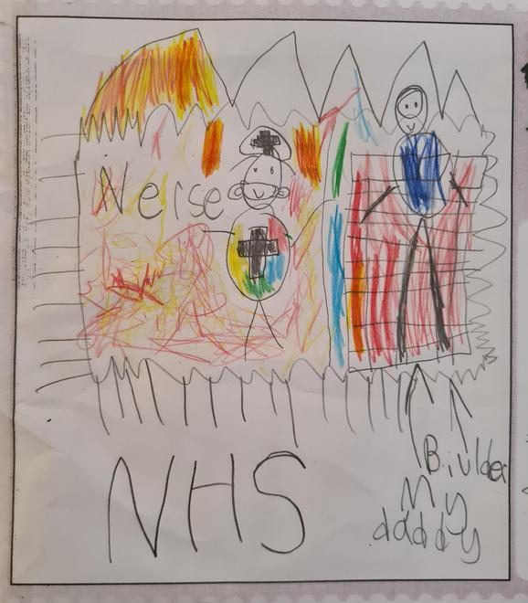 The NHS are heroes!