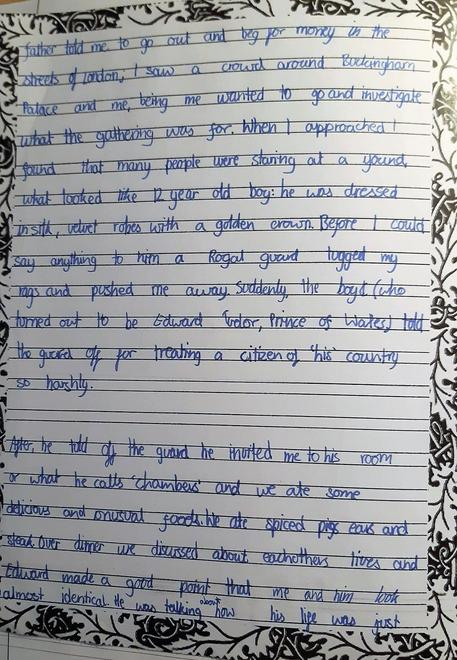 Tom's letter to his mother p2