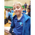 Well done Lewis for getting an 'Honesty' sticker!