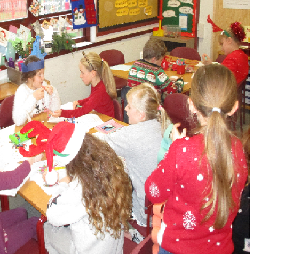 Busy creating Christmas pictures and stories.
