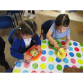 We tasted welsh Bara Brith for snack.