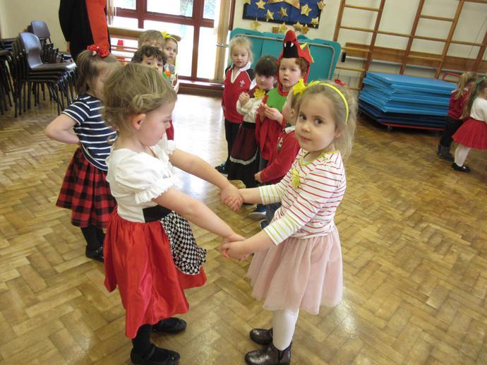 We danced to Welsh songs