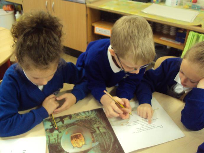 We loved reading Pumpkin Soup.