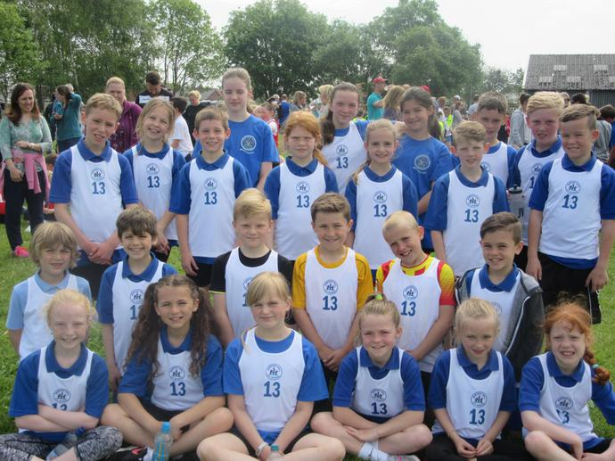 Our team of KS2 runners