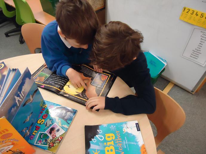 We enjoy reading non fiction books.