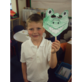 Making The Enormous Crocodile masks.