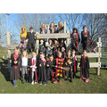Trainee wizards at Northop Hall