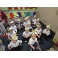 Nursery were wonderful stars in the Christmas play