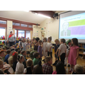 Our special assembly  - sharing our costumes.