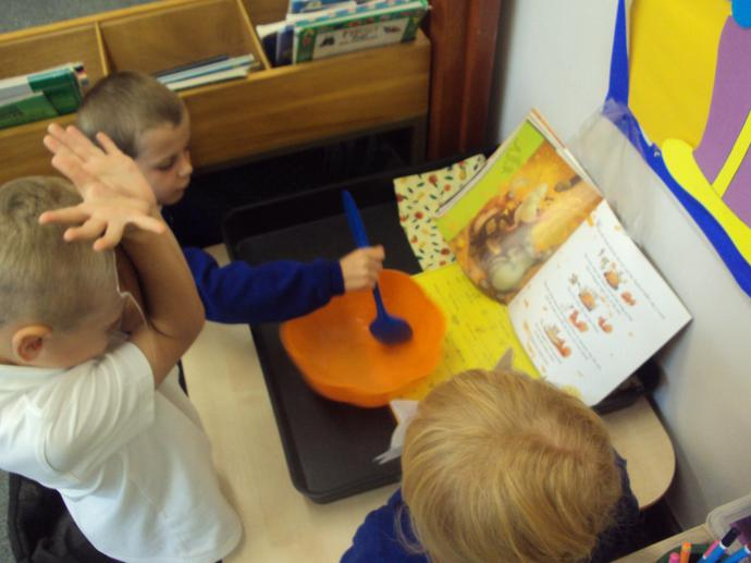 We make stories come to life in our story tray.