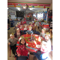 Nursery had lots of fun at their Christmas party!