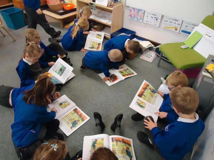 We enjoyed Anthony Browne books.