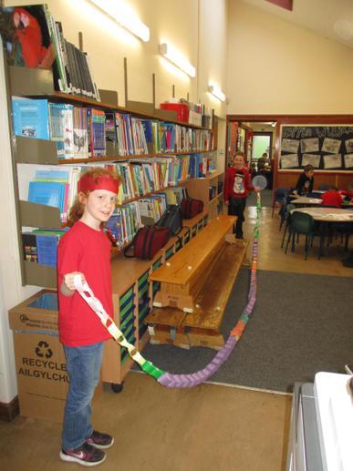 Longest paper chain!