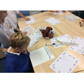 We used our whiteboards to plan our writing.