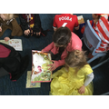 Reading with our Book Buddy