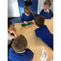 Shut the box - practising our quick addition