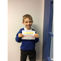 Well done William!