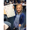 We were proud of our poems.