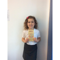 Well done Maizie!