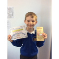 Great reading William! 100 times reader.
