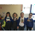 Book in a jar winners. Well done everyone!