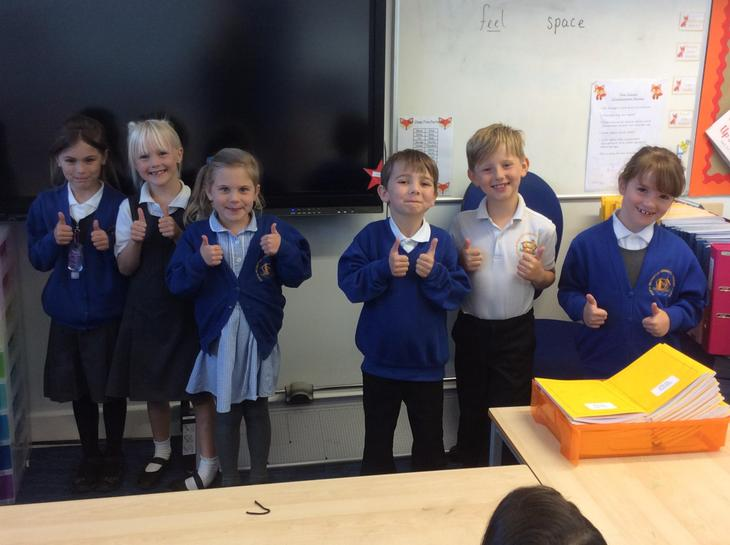 Our Fabulous Foxes this week.