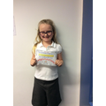 Well done Anaia!