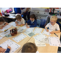 We worked hard as a group to write our poems.