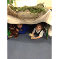Role playing in the Gruffalo's den