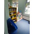 Your book corner.