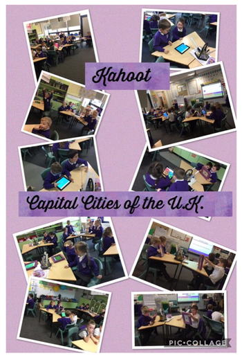 Testing children's knowledge of UK Capital Cities