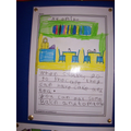 We have written information texts.