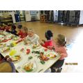 We enjoyed Xmas Lunch