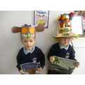 Ralph and Maisey were chosen for best hat!