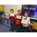 Maths Certificate Winners