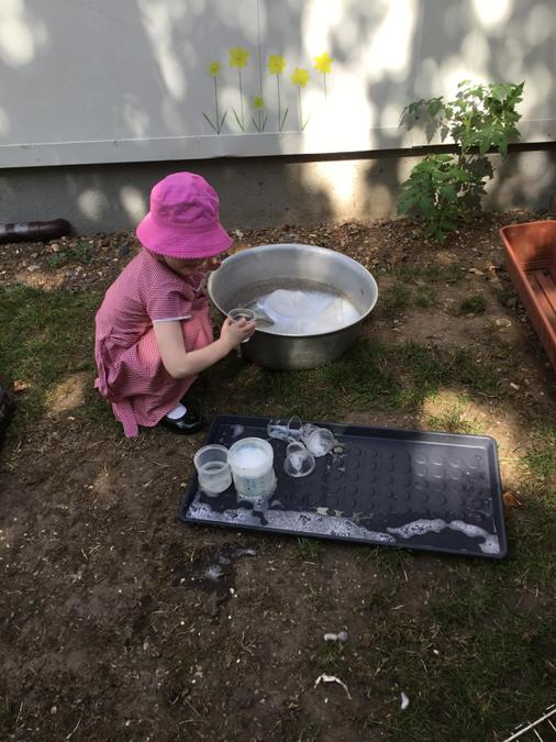 Water play:potions