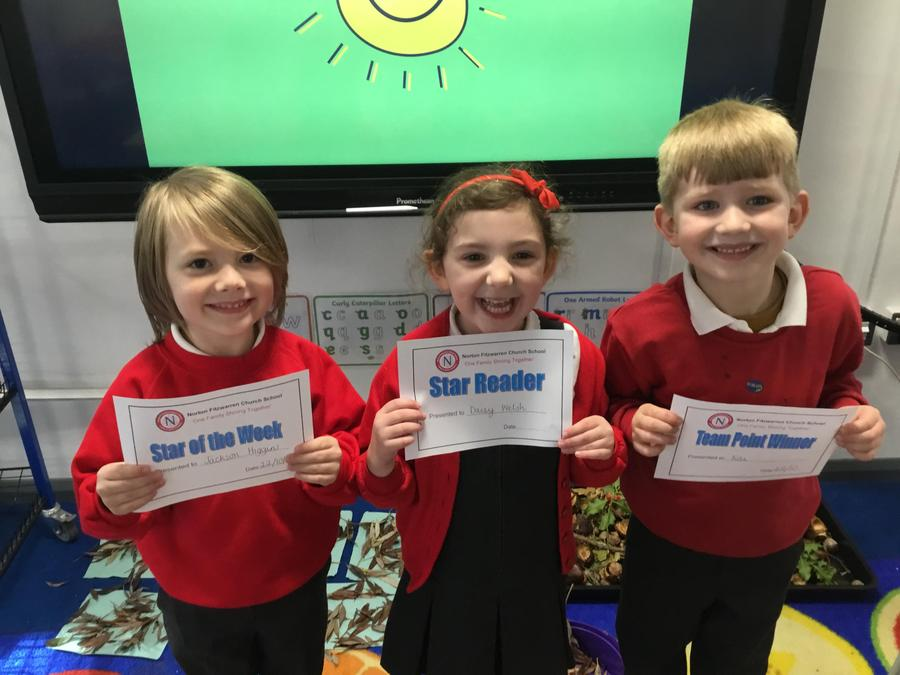 Week 7: Certificate winners